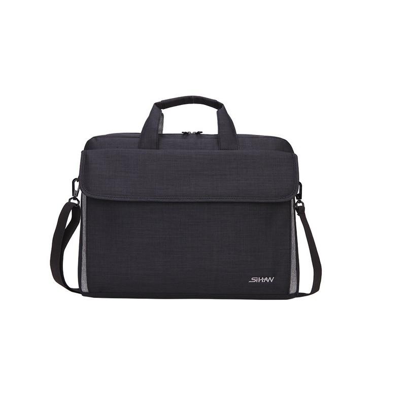 New Fashion Slim Man Women 15.6 Inch Laptop Computer Bag Travel Business Shoulder Handbag High Quality Waterproof Bags Gift
