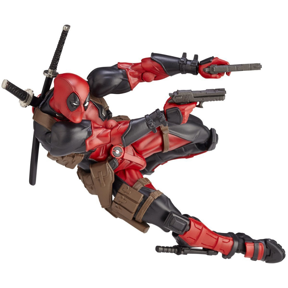 XINTOCH Action Figures Toys deadpool Dolls badass doll Anime Super hero PVC Toy Marvel Christmas Gift for Kids Drop Shipping 30 200pcs zomlings anime garbage trash pack action figures 2 3 cm soft rubber model toy kids playing animal dolls christmas gift