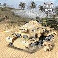 Века Военная WW2 Немецкий Panzer III Бак AUSF L Основной боевой Танк 3D Модель Здания Блок Игрушки Совместим с Lego