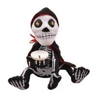Halloween Skeleton Piggy Bank Coin Box Risparmio di Denaro Divertente Peluche Antistress Novità & Gag Giocattolo Music & Dance Intrattenimento Gadget