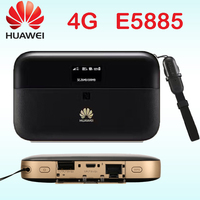 Unlocked cat6 Huawei E5885 300mbps 4g wifi router 4g wi fi router Mobile WiFi PRO 2 wiith rj45 power bank E5885Ls 93a Cat6