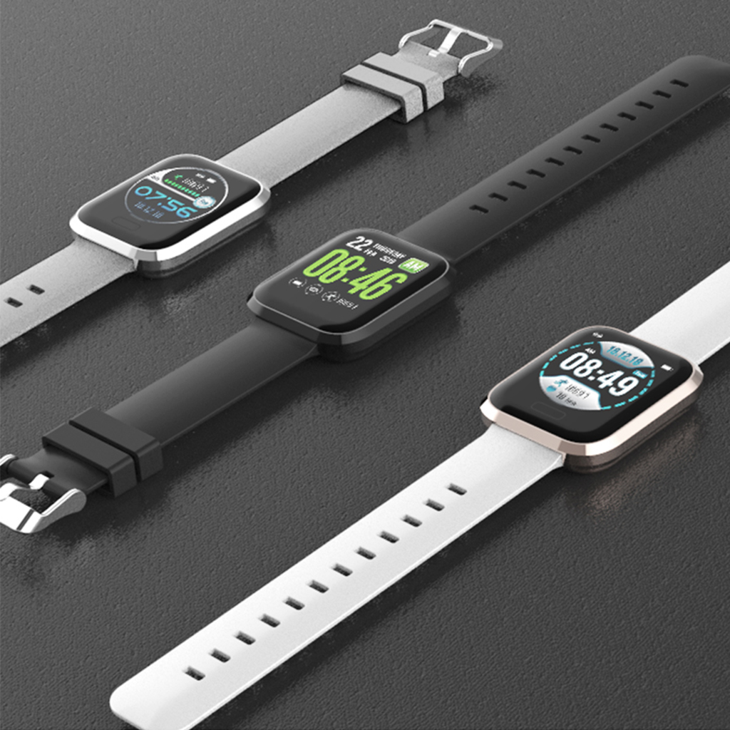 Image 2 - P30 Smart Watch Bluetooth Step Counter Waterproof Call Reminder Smart Bracelet 1.3 Inch Health Fitness Tracker For Android IOS-in Smart Watches from Consumer Electronics