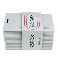 125KHz RFID em ID CARD TK4100 Cartões De IDENTIFICAÇÃO de Proximidade Clamshell Cartão Grosso 1.8 milímetros de Espessura com 64 bits para Controle de Acesso Porta