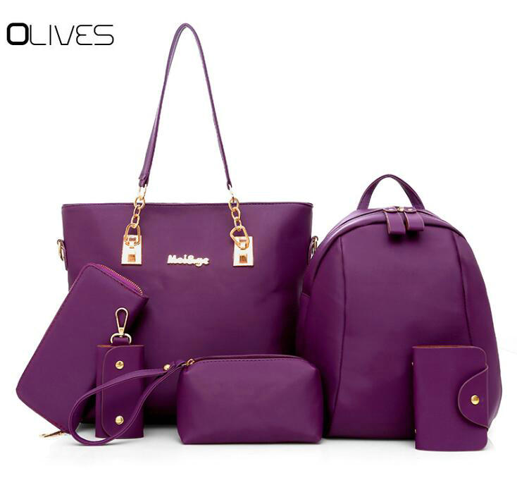 Lattice Style Ladies Crossbody Bags for Women Luxury Handbags Fashion Leather Shoulder Bag Purple 27CM 10CM 15CM