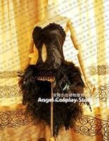Люблю жить! Nishikino Маки Черный лебедь Tricot SR Лолита моды Маскарадный костюм на заказ Любой Размер