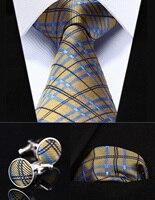 Свадьбу классического платок галстук tzc02y8 цвет желтый, синий; размеры 34–43 Проверьте 3.4
