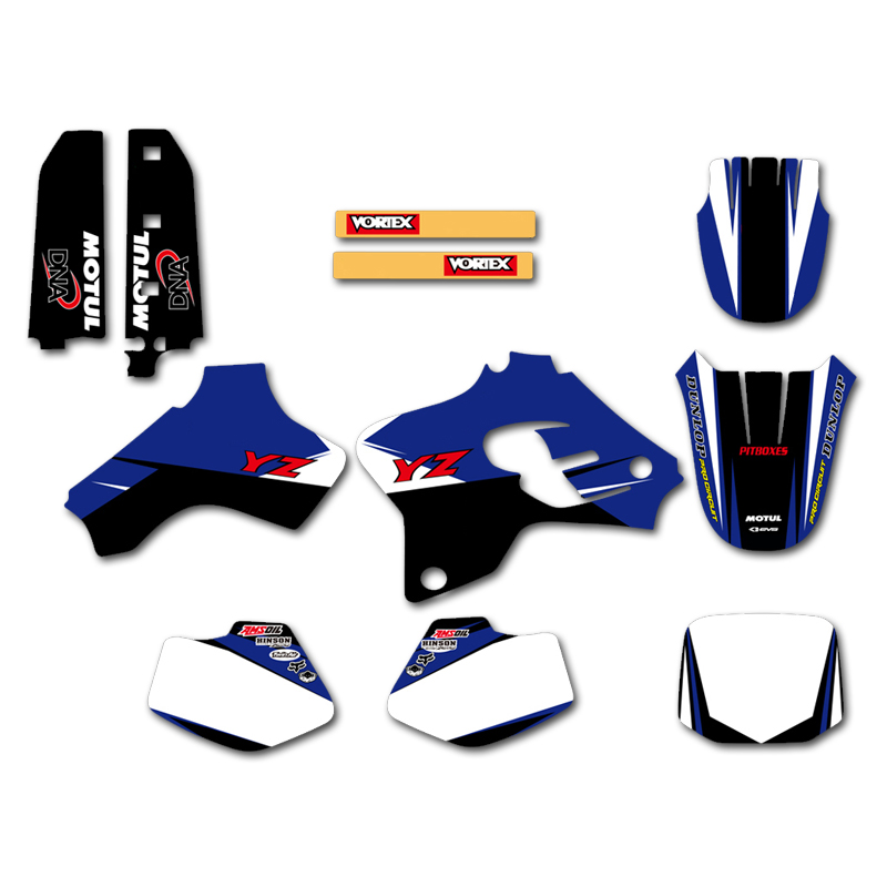 GRAPHICS BACKGROUNDS DECALS STICKERS Kits For Yamaha YZ80 YZ 80 1993 1994 1995 1996 1997 1998