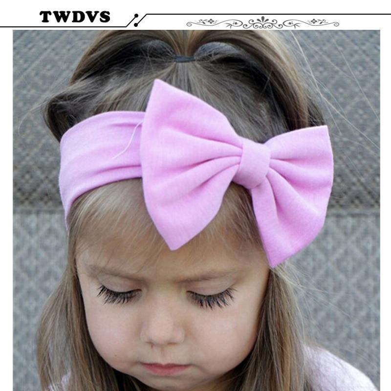 1pcs kosa lukovi novorođen cvijet traka za glavu protežu turban - Pribor za odjeću - Foto 3