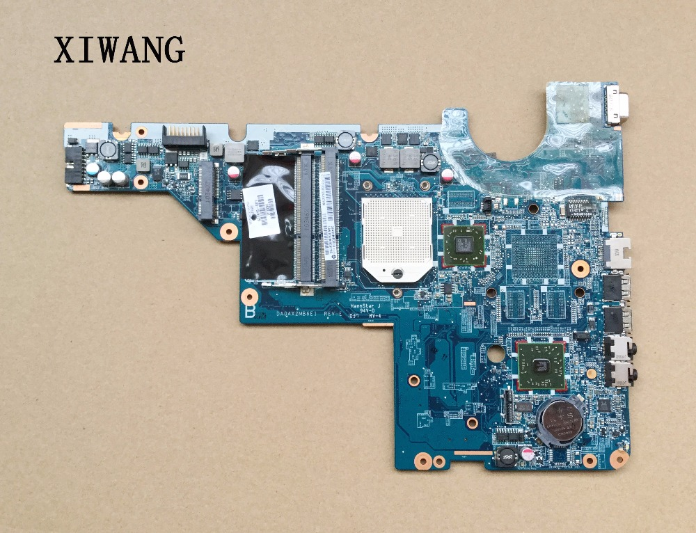 Free Shipping 623915 001 for HP CQ56 G56 CQ62 G62 laptop motherboard DA0AX2MB6E1 REV : E Tested Fully