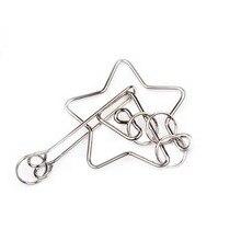 Pentacle Metal Ring Puzzle