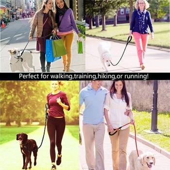 1.5M Reflective Large Dog Leash Nylon Rope Leads Durable Dog 5
