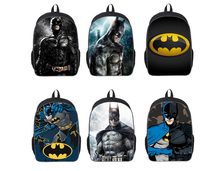 hot deal buy 16-inch mochila batman bags for school boys batman backpack cool kids school bags for teenagers children daily backpack