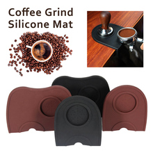 Black Brown Barista Coffee Anti-skid Mat Espresso Latte Art Pen Tamper Tamping Holder Silicone Pad Coffee Accessories