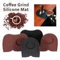 Schwarz Braun Barista Kaffee Anti-skid Matte Espresso Latte Art Stift Tamper Stampfen Halter Silikon Pad Kaffee Zubehör