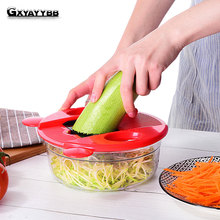 GXYAYYBB Mandoline Vegetable Slicer Stainless Steel Cutting Vegetable Grater Creative Kitchen Gadget Carrot Potato cutter Grater