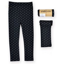 2017 Autumn Winter Kids Casual Pants Girl Stretchy Leggings Trousers 2-7Y Candy Color