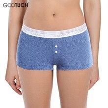 Femmes coton culottes slips sous vêtements taille basse Boyshort pour femme sécurité courte corps corset grande taille Boxer shorts
