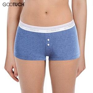 Image 1 - Women Cotton Panties Briefs Underwear Low Waist Boyshort For Female Safety Short Body Shaper Underwear Plus size Boxer shorts