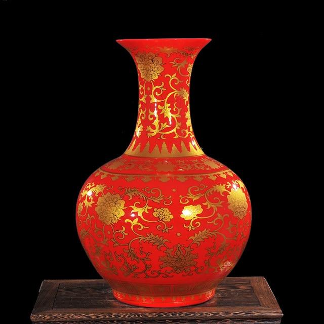 Online Shop Luxury Jingdezhen Antique Porcelain Enamel Desgin Vase