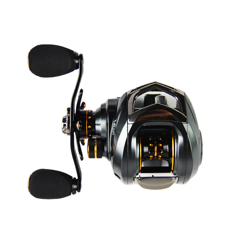 Baitcasting Fishing Reel Left Hand or Right Hand All Metal 6.3:1 Water Drop Reel 14+1BB Magnetic Brake Fake Bait Reel Fishing original shimano bass one xt 150 151 right left baitcasting reel 7 2 1 5bb 5kg svs syetem fishing reel carretilha moulinet peche