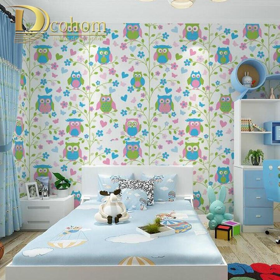 Online Buy Grosir Wallpaper Untuk Kamar Tidur Anak Anak From China