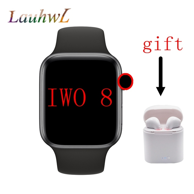 Bluetooth Smart Watch IWO 8 1:1 SmartWatch 44mm Case For Apple iOS Android Heart Rate ECG Pedometer IWO 5 Upgrade