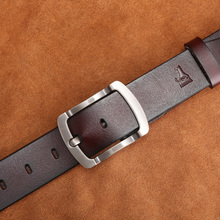 Luxury Classic Genuine Leather Pin Buckle Belt For Men