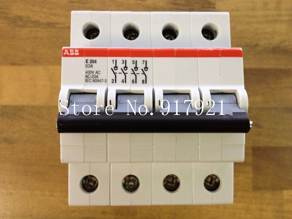 все цены на [ZOB] The original original E204 63A 4P63A isolation switch to ensure genuine  --2PCS/LOT онлайн