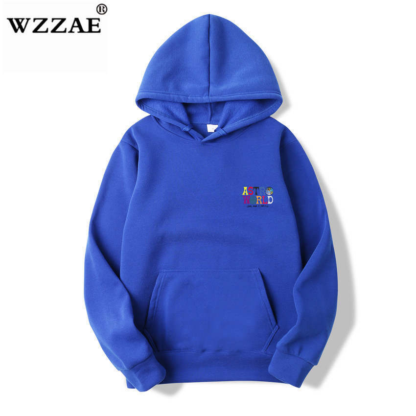 Fashion Letter ASTROWORLD HOODIE street wear Man woman Pullover Sweatshirt 22