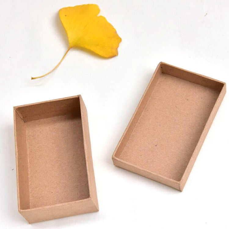 DoreenBeads 2018 nueva caja de regalo de papel al por mayor exquisita caja de joyería 8*5*2,5 cm 1 pieza