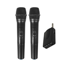 E7 Universal VHF Wireless Handheld Microphone with Receiver/Antenna for Karaoke/Business Meeting Portable Microphones high end uhf 8x50 channel goose neck desk wireless conference microphones system for meeting room