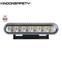100 шт! ECE R65 Утвержденный 3W грузовик светодиодный строблайт поверхностного монтажа решетка предупреждающий свет multivolt