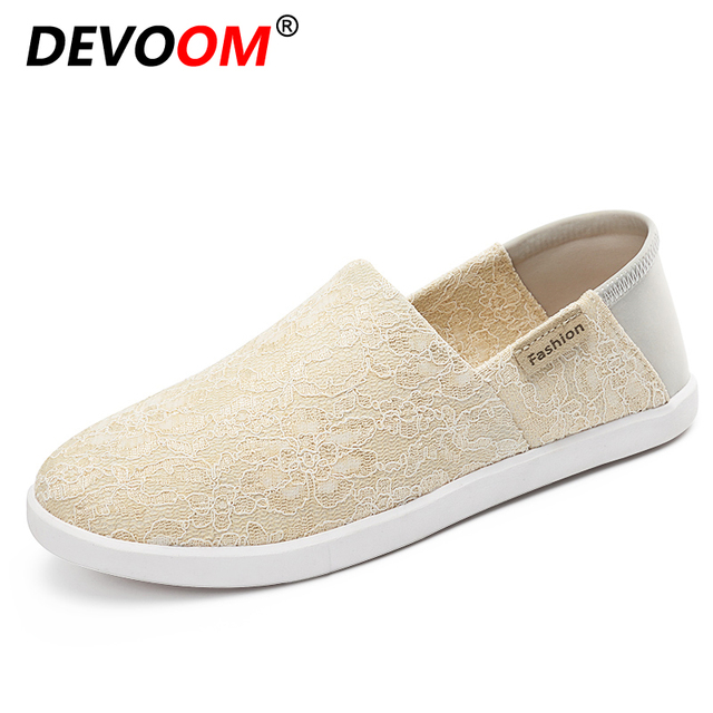 Womens Mesh Shoes Round Toe Hollow Breathable Lace-Up Plimsoll Comfort Casual