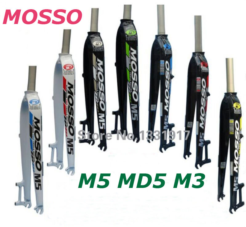 цена на Mosso Fork M5 MD5 M3 MTB/Road Bike Fork 26 27.5 29er Road Bicycle fork suspension front forks hot selling 2018