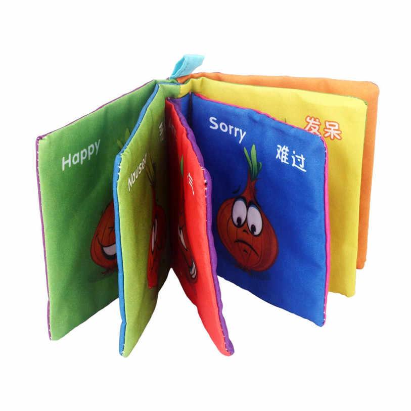2019 горячая Распродажа мягкая новая ткань для развития интеллекта ребенка обучающая картина познавательная книга подарок на день рождения игрушки для детей