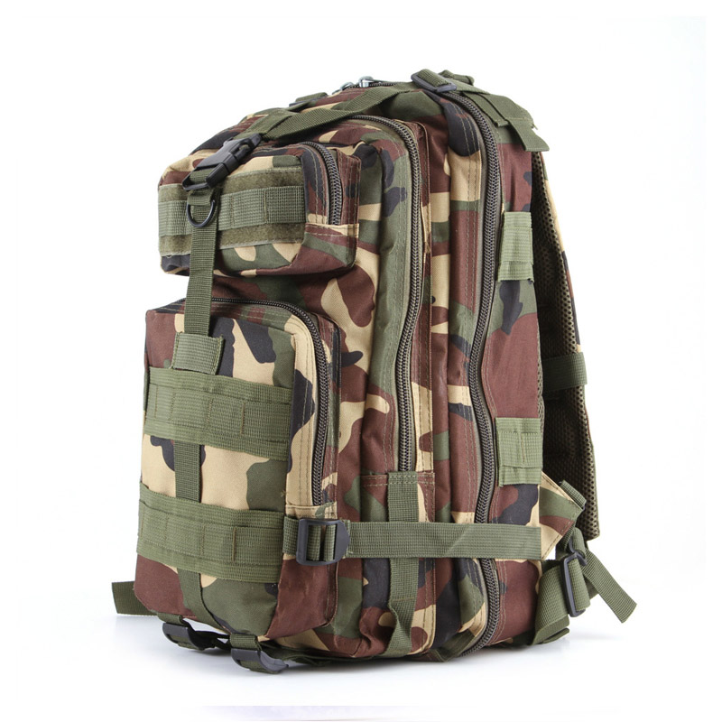 Camouflage Men Sports bag Women Outdoor Military Army Tactical Backpack Camping Hiking rucksack Trekking Sport Backpack