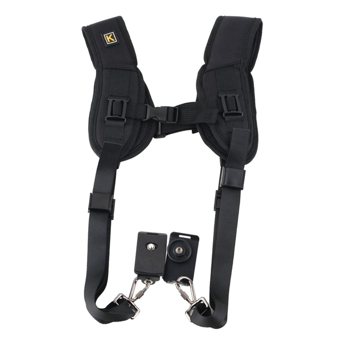 Double shoulder strap 2 digital SLR camera dslr photography accessories