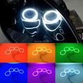 Para Chevrolet Corvette C6 2005-2013 Excelente Ultrabright kit Angel Eyes Multi-Cor RGB LED Angel Eyes de Halo anéis