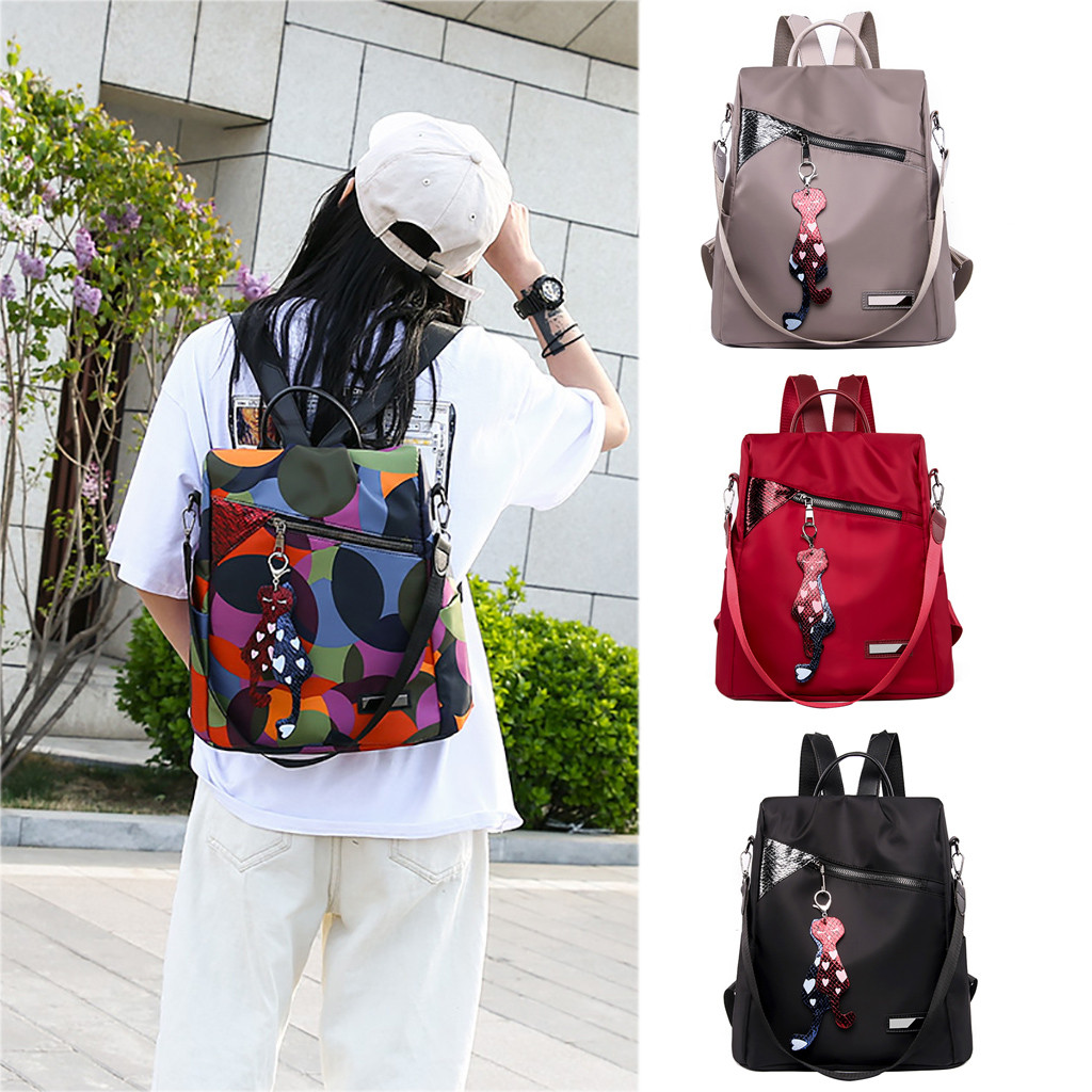 Fashion Oxford Women Anti-theft Backpack Hight Quality Vintage Backpacks High Quality School Bag For Women Multifunctional Bags