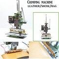 Manual de cuero máquina de Prensar, lámina caliente máquina Que Prensa, prensa de marcado, la sangría línea de presión, pulse línea de goma y de plástico