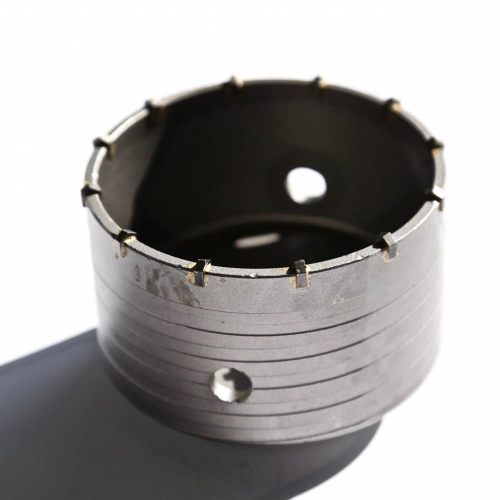Free shipping of professional 105*72*M22 carbide tipped wall hole saw for air condtiional holes opening on brick concrete wall free shipping 1pc carbide tipped wall hole saw 95 72 m22 strengthened electric hammer hole saw for wall