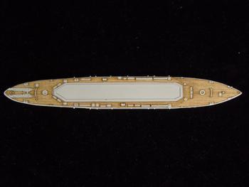 W36 ARTWOX fast whale Pitrod submarine ship deck AW20083