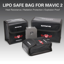 Mavic 2 Pro/Zoom  Battery Protective Case Storage Bag Explosion-proof Safe Bag for dji mavic 2 pro/zoom Drone Accessories