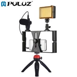 PULUZ Smartphone Video Rig Filmmaking Recording Handle Stabilizer Bracket For iPhone/Smartphone