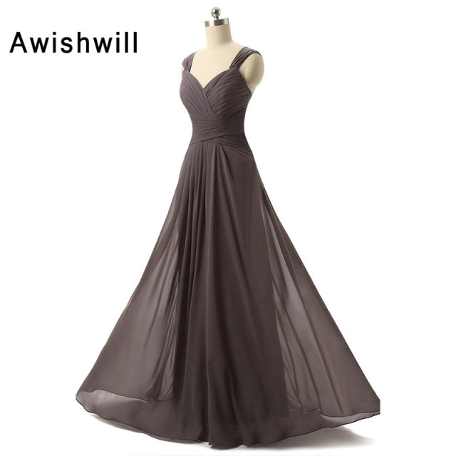Aliexpress Buy Elegant Cap Sleeve Simple Long Evening Dress