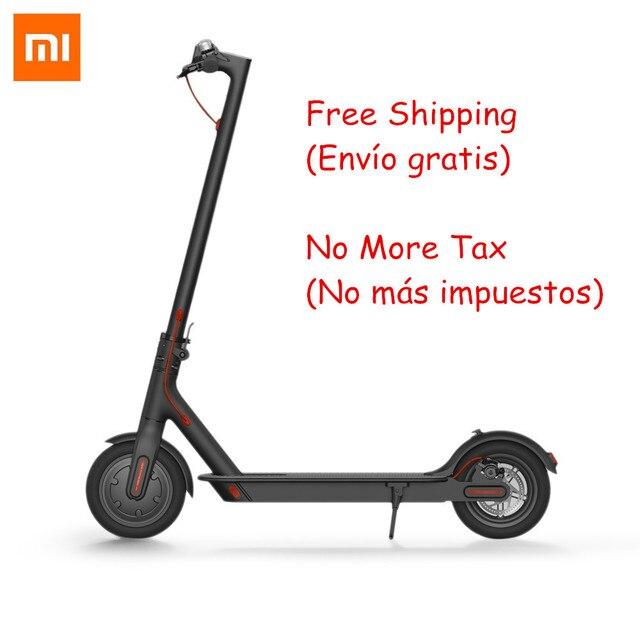 Xiaomi M365 plegable adulto inteligente Scooters eléctricos ligero Hoverboard 30 km Longboard patineta eléctrica