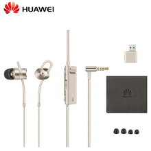 In stock Original Huawei Honor AM185 Earphone Active Noise Cancelling 2 II with Mic and Remote In-Ear earphone for Smartphones