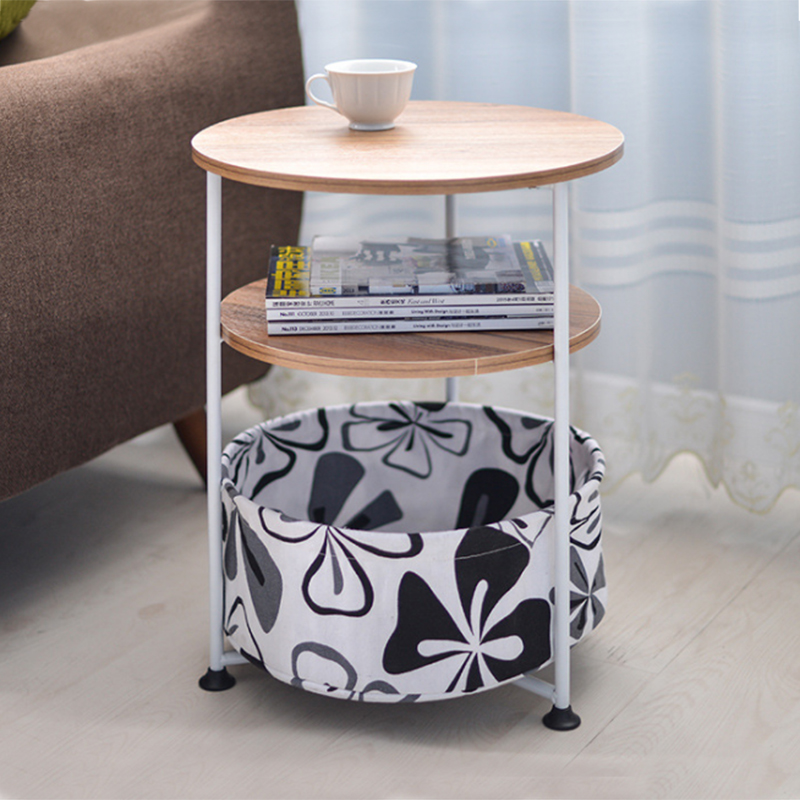 Super Simple Small Household Movable Round Sofa Storage Side Table Beatyapartments Chair Design Images Beatyapartmentscom