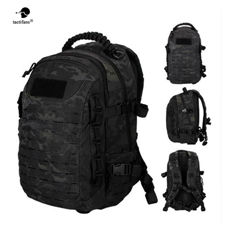 Tactical Backpack Laser Cut Molle PALS Multicam Bag 25L Sport Bag Military Backpack Hiking Outdoor Bags EDC Tactical Gears new arrival 38l military tactical backpack 500d molle rucksacks outdoor sport camping trekking bag backpacks cl5 0070