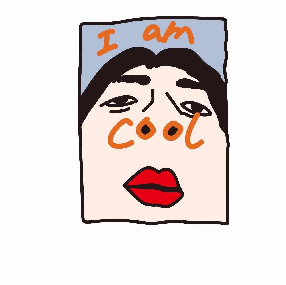 Ins Hidung Lucu Kartun Cetak DIY Pakaian Setrika Stiker